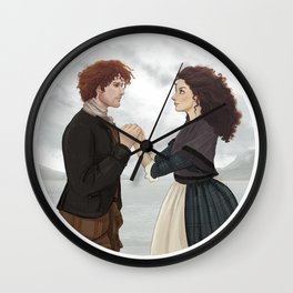 "Outlander ""The Frasers"" Wall Clock"
