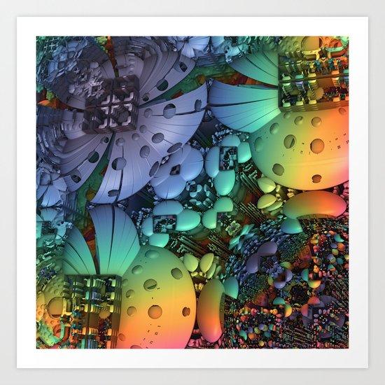 Phlowerz Art Print