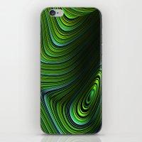 malachite iPhone & iPod Skins featuring Malachite by Vix Edwards - Fugly Manor Art