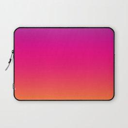 Sunset Ombre Gradient Colors Laptop Sleeve