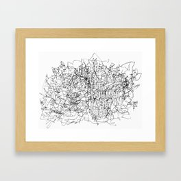Triumph Over Chaos. Framed Art Print