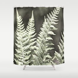 Fantasy Feather Like Fern Shower Curtain