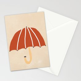 Umbrella Weather Stationery Cards
