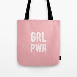 GRL PWR (pink) Tote Bag