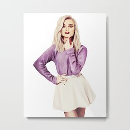 Perrie Edwards Metal Print