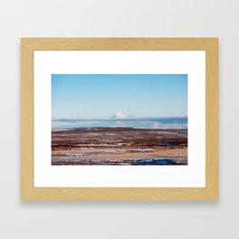 Islande photo Framed Art Print