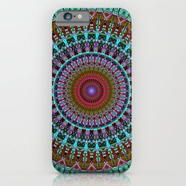 BoHo mandala iPhone Case