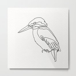 Kingfisher Metal Print
