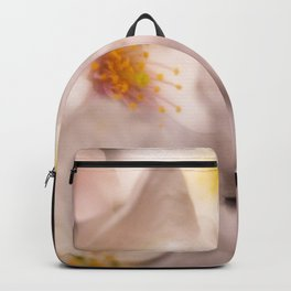 Cluster of Soft White Dogwood Flowers Backpack