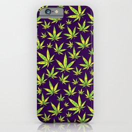 OG Kush Pattern iPhone Case