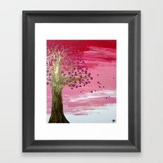 Sakura - Day Framed Art Print