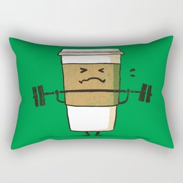 Strong Coffee Rectangular Pillow