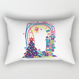 Mobile Developer's Guide to the Galaxy: New Year's Edition, December Rectangular Pillow