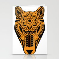 jaguar Stationery Cards featuring jaguar by danta