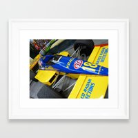 f1 Framed Art Prints featuring F1 by Jack Cookson Photography