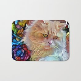 Pretty Kitty Bath Mat