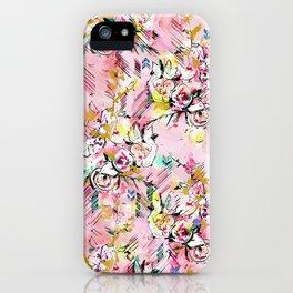 FLORAL ARROW iPhone Case