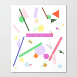 HELLO SPRINKLES Canvas Print
