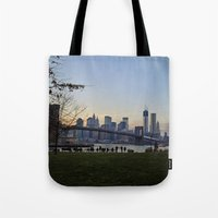 dumbo Tote Bags featuring dumbo by danielle marie