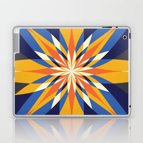 Flowering Quilt #2 Laptop & iPad Skin