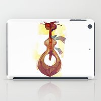 guitar iPad Cases featuring Guitar by tipa graphic