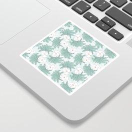 Fern-tastic Girls in Sage Green Sticker