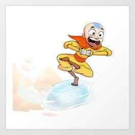 Aang Art Print