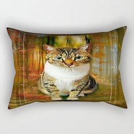 Cat Models: Wanda 01-02 Rectangular Pillow
