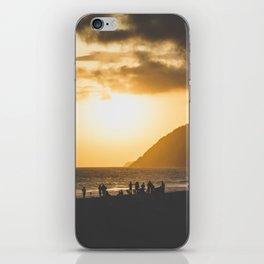 Ipanema Sunset iPhone Skin