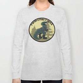 Twin Cities T-Rexx Logo Long Sleeve T-shirt