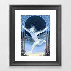 Little Jack Frost Framed Art Print
