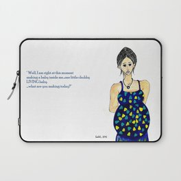 conceited babymaker Laptop Sleeve