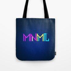 Minimal Type (Colorful Edm) Typography - Design Tote Bag