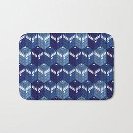 Infinite Phone Boxes Bath Mat