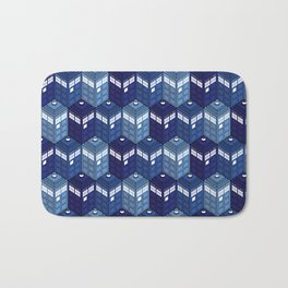 Infinite Phone Boxes Bath Mat