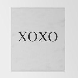 xoxo II Throw Blanket