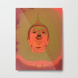 Looking For Buddha 26d Metal Print