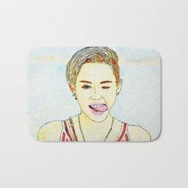 Miley Illustration Bath Mat