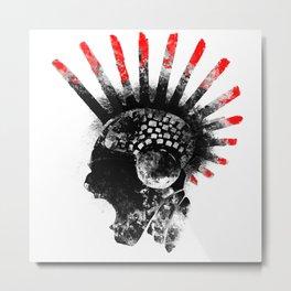 cyberpunk Metal Print