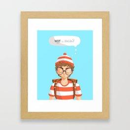 Williamsburg Waldo Framed Art Print