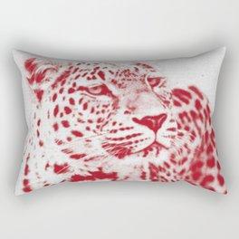 Leopard 01 Rectangular Pillow