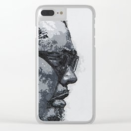 CHARLES MINGUS Fine Art Acylic Painting Portrait Signed Clear iPhone Case