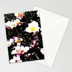 Pink Flowers (Edited)  Stationery Cards