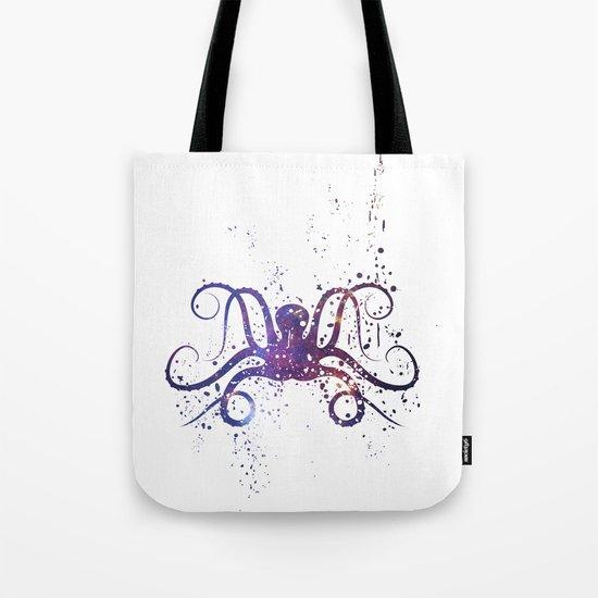 Galaxy Octopus Tote Bag