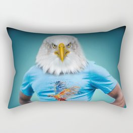 Mister Eagle Rectangular Pillow