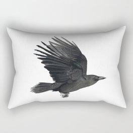Flying crow Rectangular Pillow