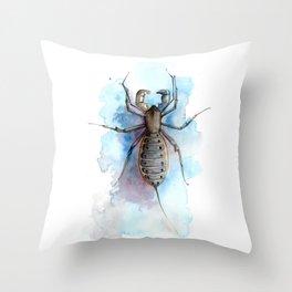 Vinegaroon Throw Pillow