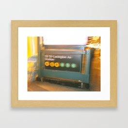 Lexington Light Framed Art Print