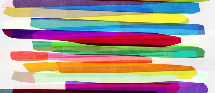 Colorful Stripes 1 Coffee Mug
