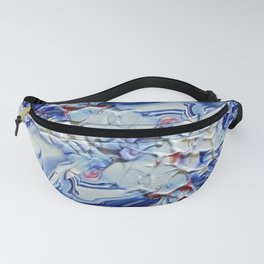 Digital Floral Fanny Pack